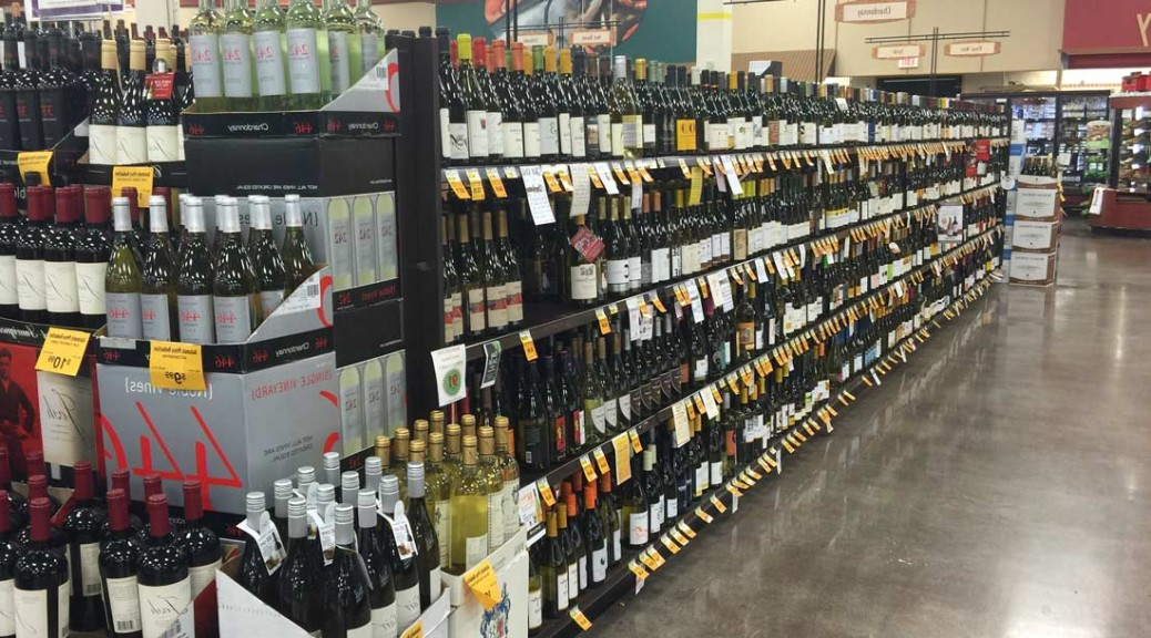craft wine store wine aisle